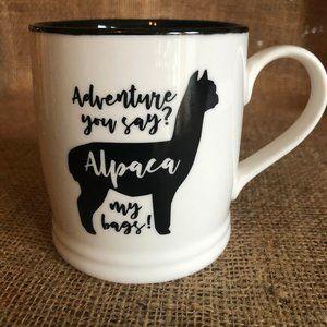 Large Mug Alpaca Novelty Cup